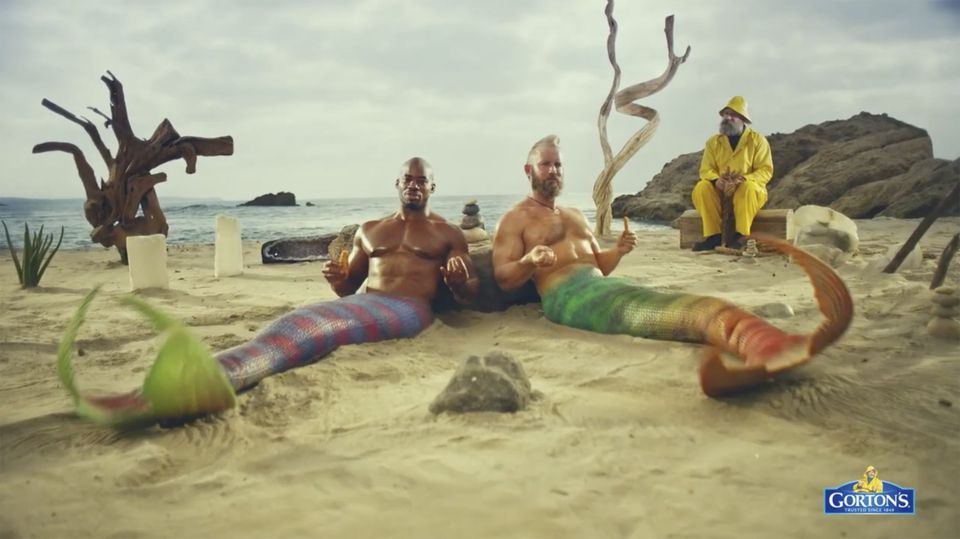 After four decades at the helm of the Gloucester-based company's advertising campaign, Gorton's famous yellow slicker-clad fisherman is now cavorting with a rather odd cast of seafaring creatures: Mythical beings and social media influencers.