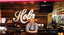 Chef David Vargas at Via Cantina in Portsmouth, N.H.