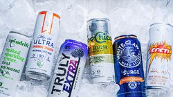 A Truly Hard Seltzer from Boston Beer with other brands.