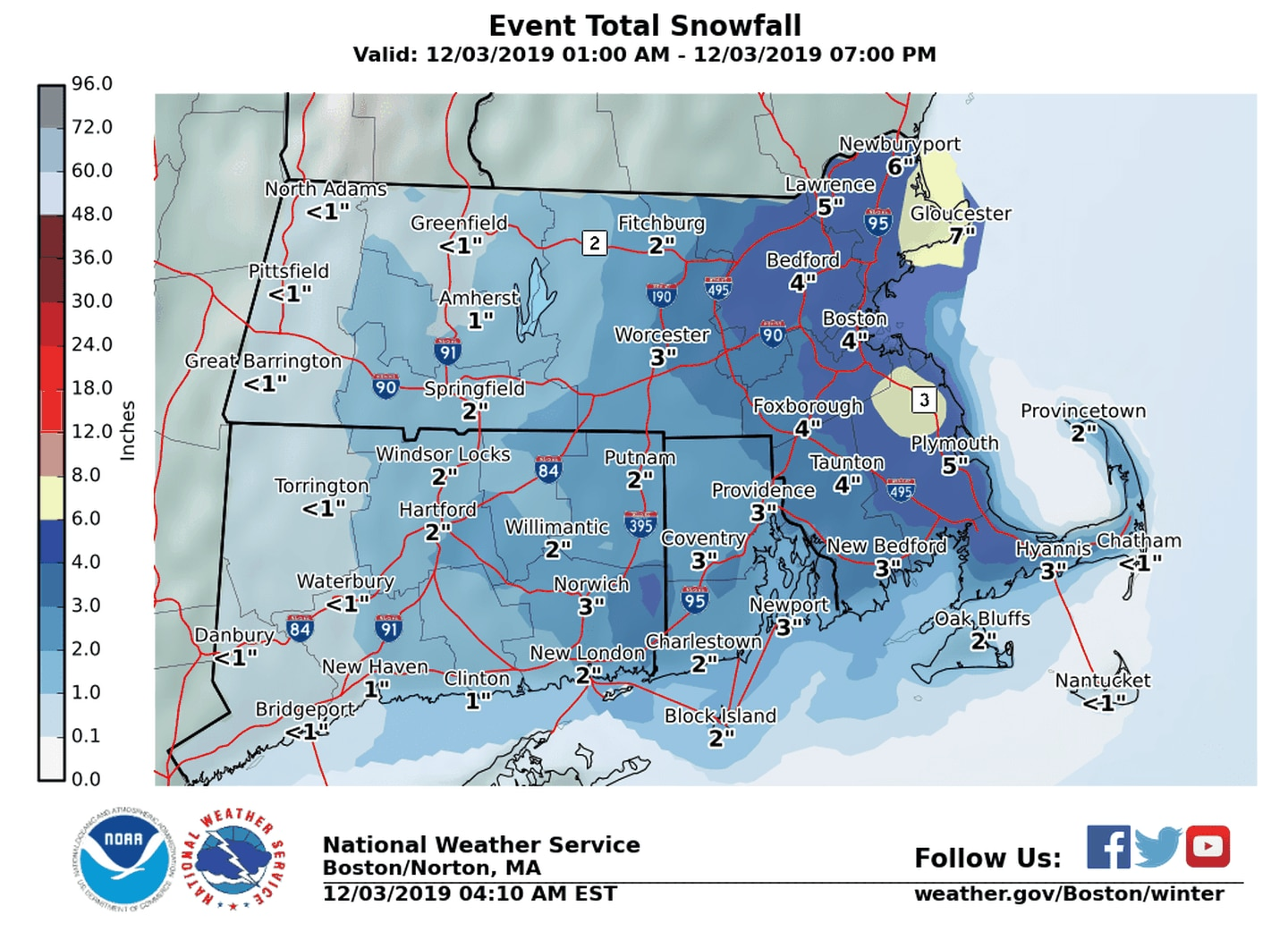 Maps How Much Snow To Expect In Your Area The Boston Globe