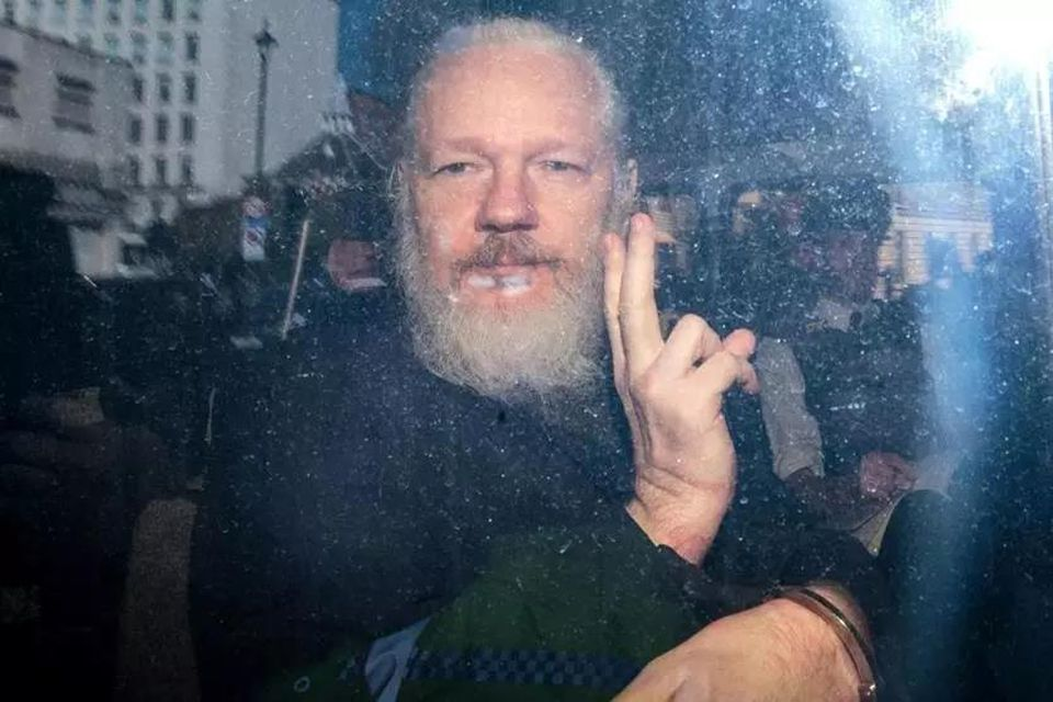 Julian Assange was arrested Thursday in London.