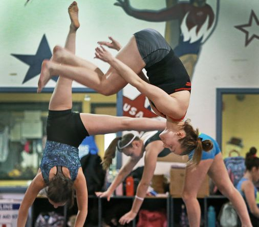 Legally blind, local 10-year-old gymnast sets sights on