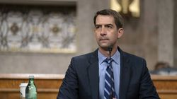 Senator Tom Cotton, a Republican from Arkansas, at a hearing on Capitol Hill in Washington on March 25.