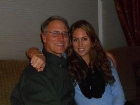Michael J. Tougias, at left with his daughter, Kristin.