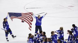 The United States has won the last five women's world hockey championships.