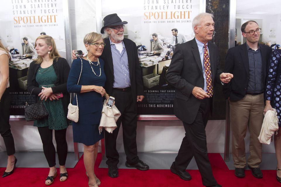 Walter Robinson (at right).