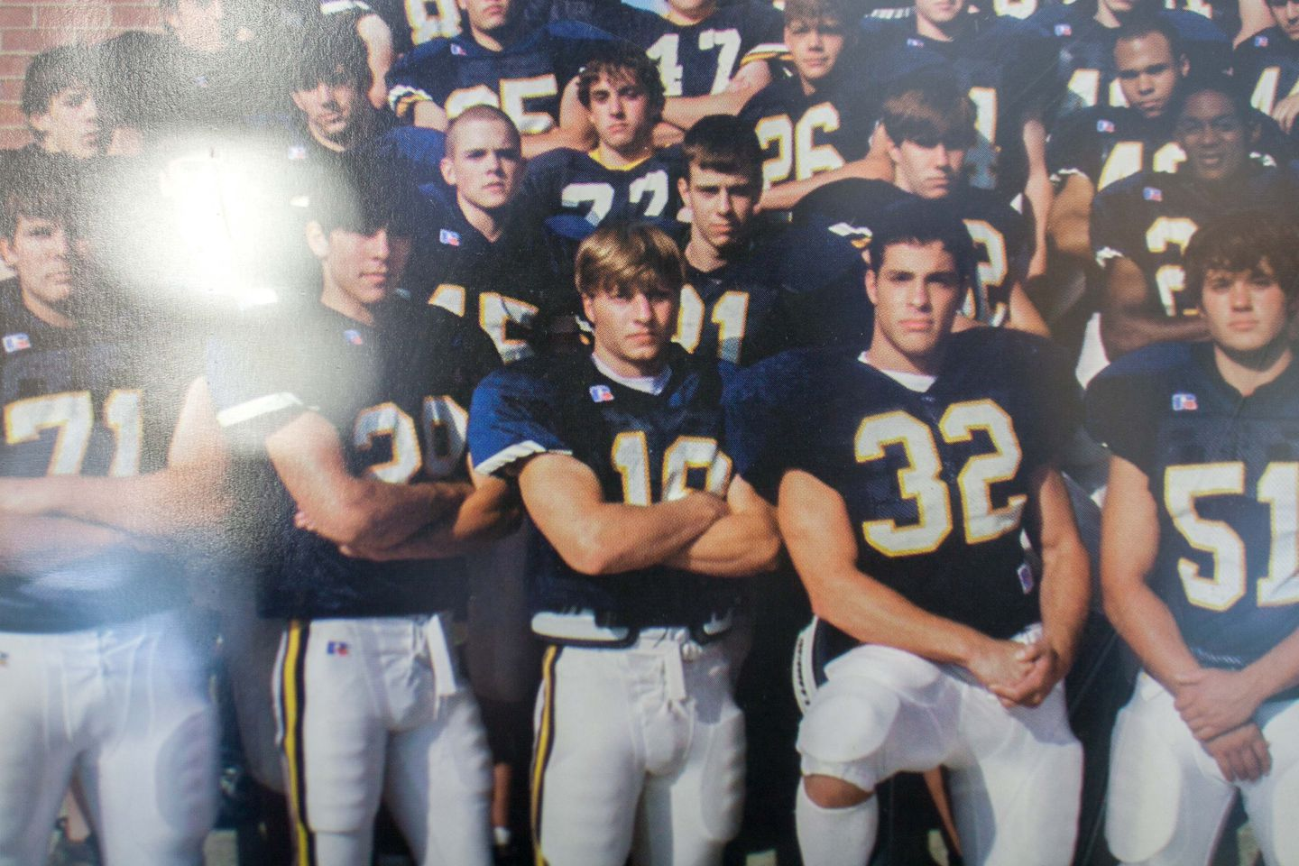 American High School Naked before he was a star coach, rams' sean mcvay was a star on