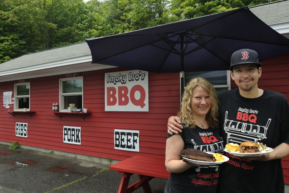 Sunshine and Brolin Winning serve ribs and other smoked meats Friday through the weekend at Smoky Bro's.