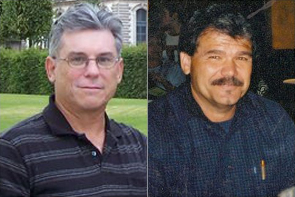 Tim Wilson (left) had both end-stage liver disease and liver cancer. Paul Hawks (right) was 56 at the time of the liver transplant at Lahey Clinic.