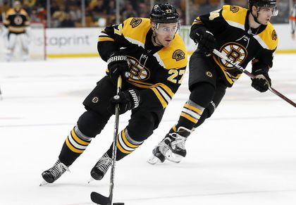 new concept 3f163 8fd58 Opportunity knocking on Bruins' blue line for John Moore ...