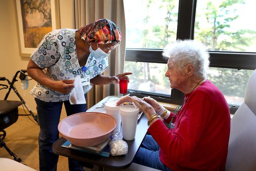 Nursing homes struggle to reduce a serious COVID risk: many employees resist vaccination