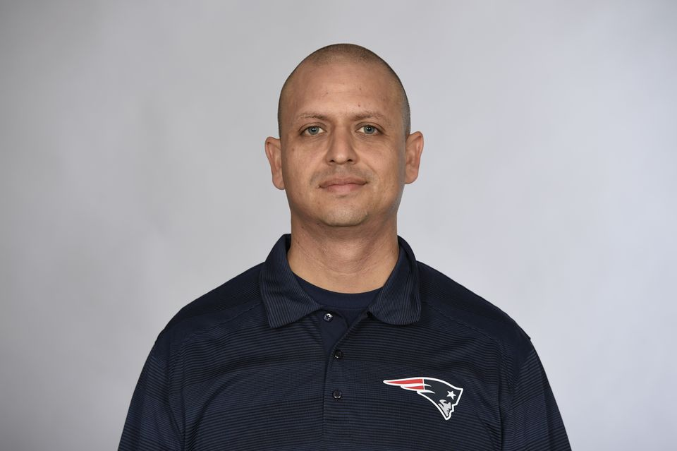 Moses Cabrera has been with the Patriots for seven years.