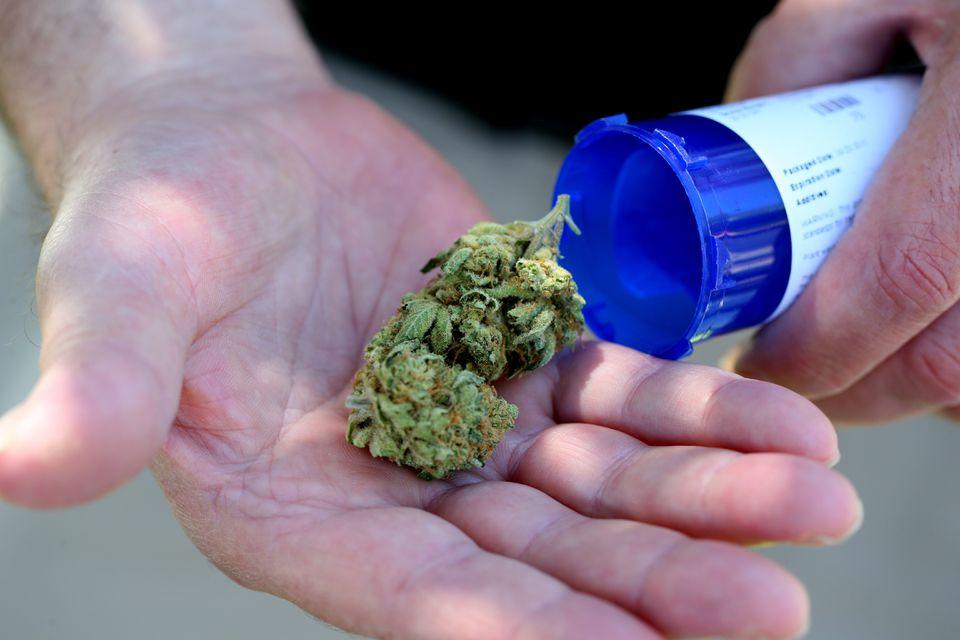 Medical marijuana from a dispensary in Salem.
