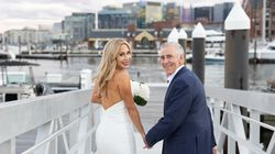 Billy Costa, a local radio host, wed his longtime girlfriend Michele Steele in an intimate wedding on Oct. 1.