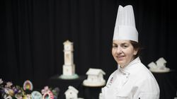Gloria Cabral, professor of baking and pastry arts at Bristol Community College.