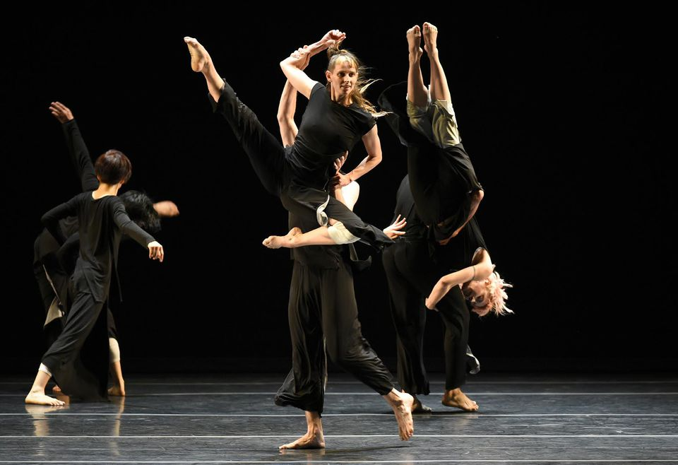 Doug Varone and Dancers' movements are unleashed in multiple directions.