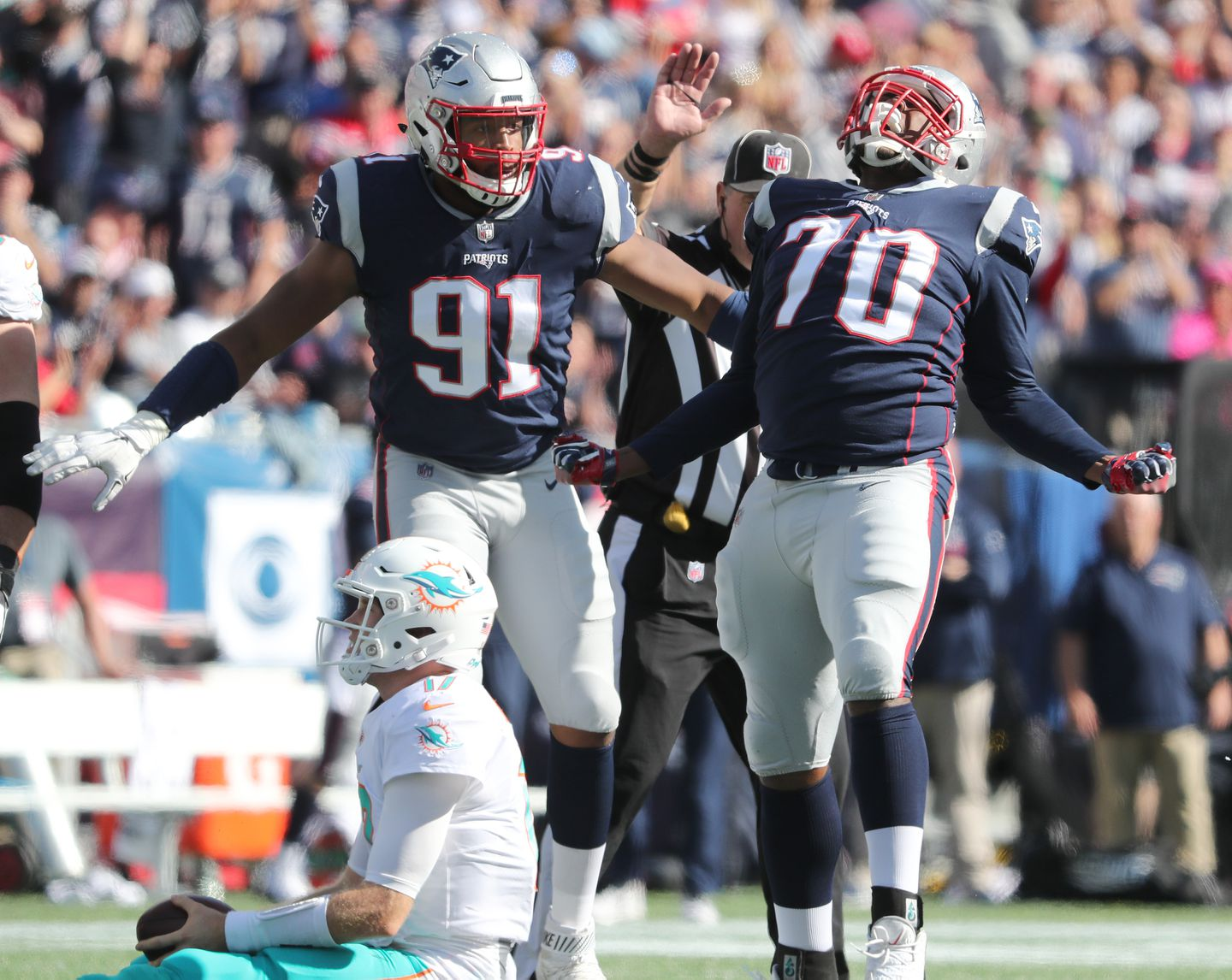 Patriots are back in familiar territory and away from the edge of danger -  The Boston Globe