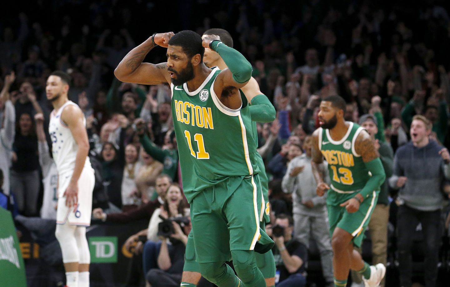 587975238cc Kyrie Irving on his future in Boston   I don t owe anybody  expletive