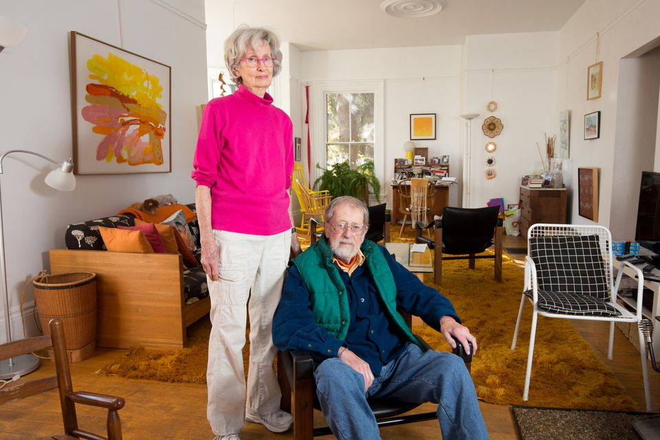 Virginia and Bill Robinson created a caregiver suite in their Newton home.