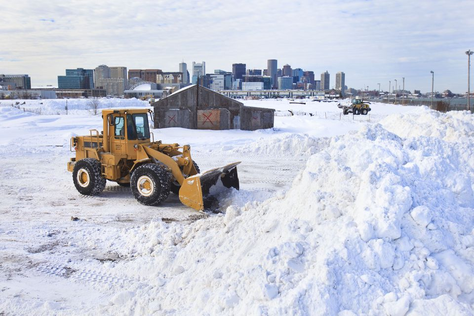 Little did city workers know on Jan. 28 that the onslaught of snow would go on and on.