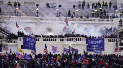 People stormed the Capitol in Washington on Jan. 6.