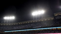 The Dodgers were an MLB-best 58-23 at home in the regular season, then won the Wild Card Game over the Cardinals and split two with the Giants at home in the Division Series.