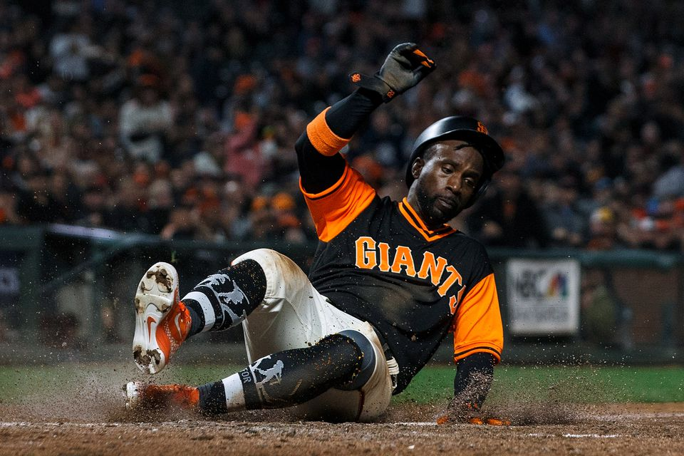 Giants outfielder Andrew McCutchen could be a major factor if he lands with a contending team.