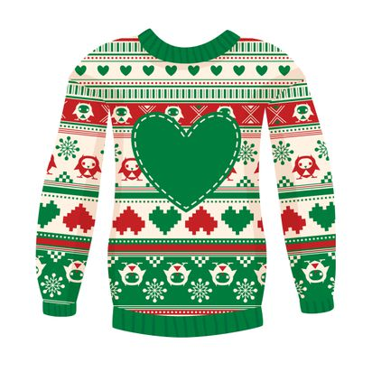 newest 2f595 92bf5 Ugly Christmas Sweater Day' celebrates self-conscious kitsch ...
