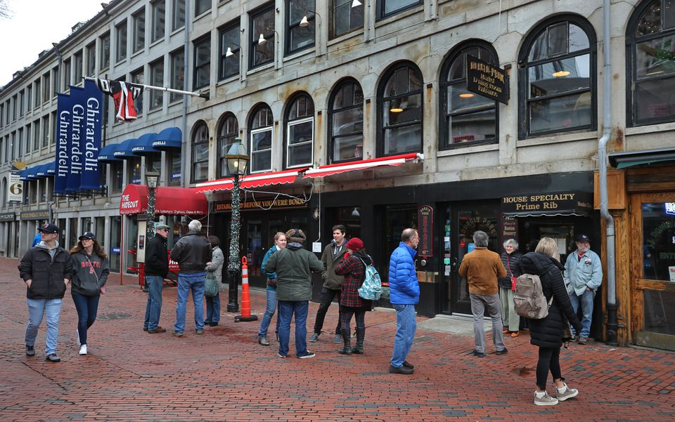 Durgin-Park, a landmark at Faneuil Hall for years, closed earlier this month.