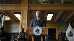 """Governor Charlie Baker said he is """"deeply disappointed"""" that the Legislature is once again delaying a state charitable tax deduction."""