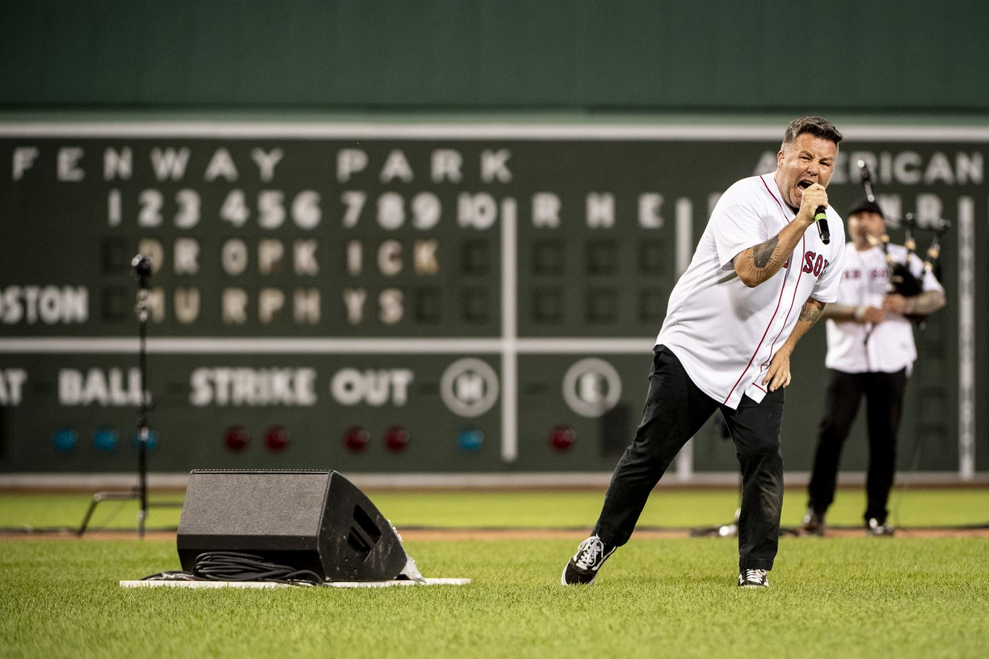 Dropkick Murphys (and Springsteen) fill an empty Fenway with big ...