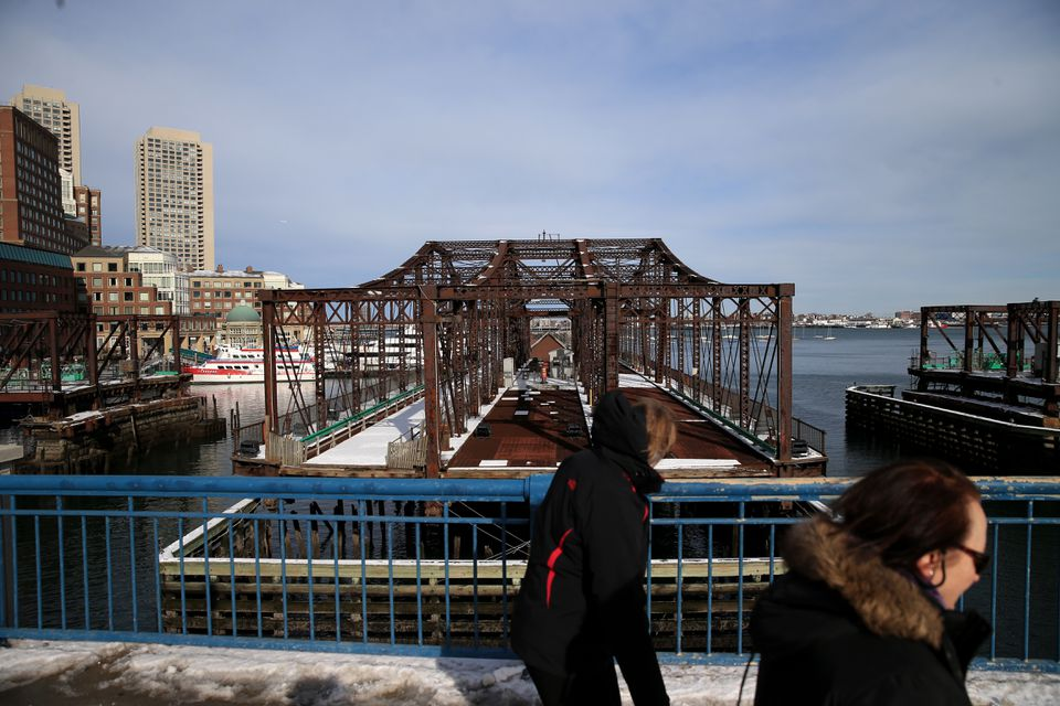The Northern Avenue Bridge over Fort Point Channel has been closed to pedestrians since 2014, and the Coast Guard warned last fall that it could collapse.