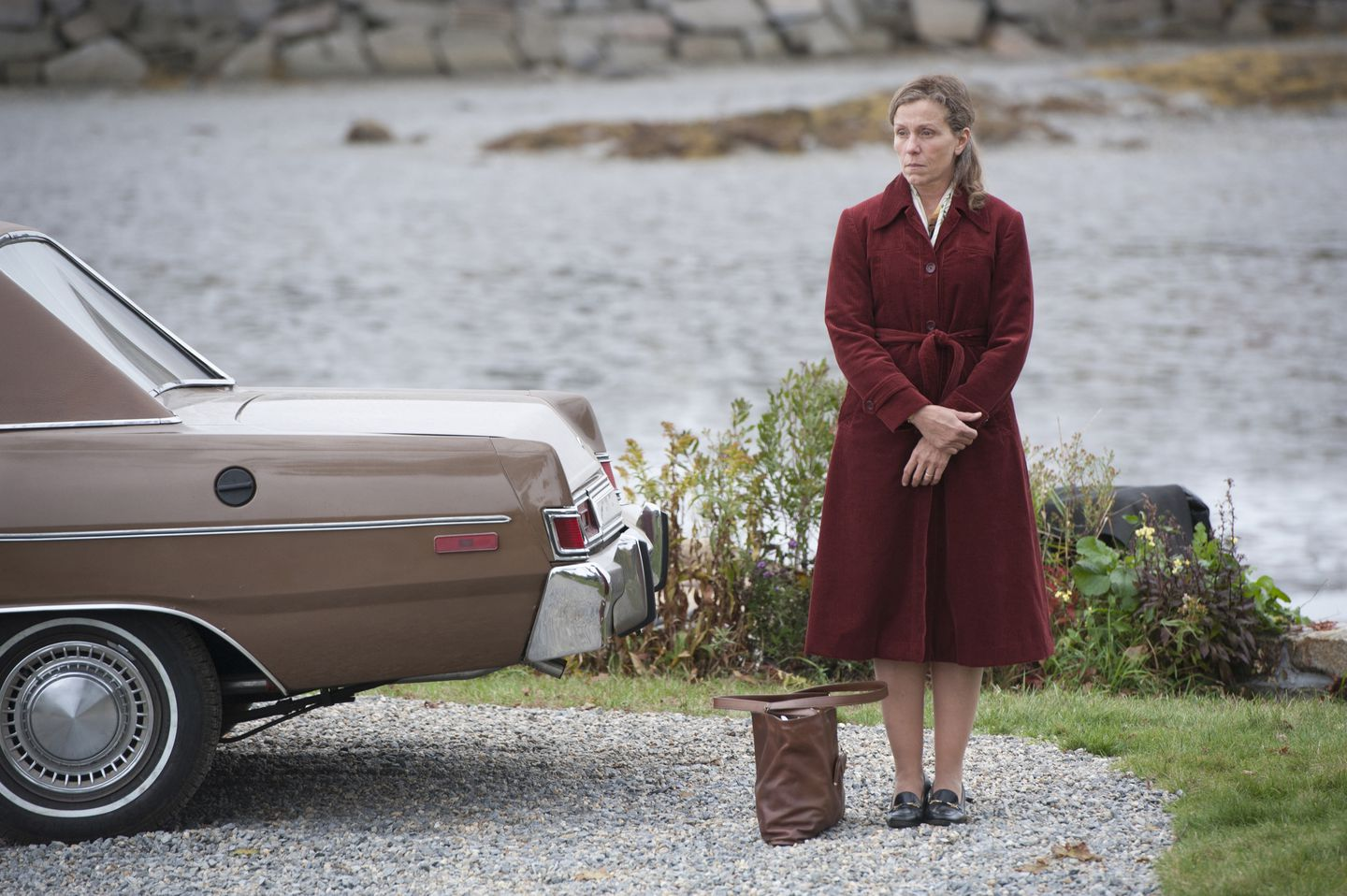 "Frances McDormand in HBO's ""Olive Kitteridge."""
