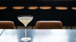A citrusy, salty tweak gives surround-sound-caliber flavor to the gimlet at Black Lamb.