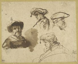 George Abrams has promised the majority of his collection of Dutch drawings to the Harvard Art Museums.
