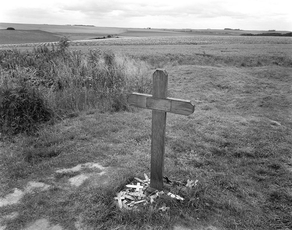 "Bonnell Robinson's ""George Nugent grave, Somme, France"""