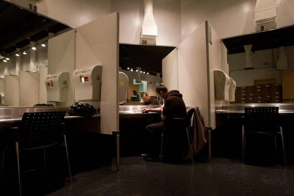 The Insite safe injection clinic in Vancouver, B.C.