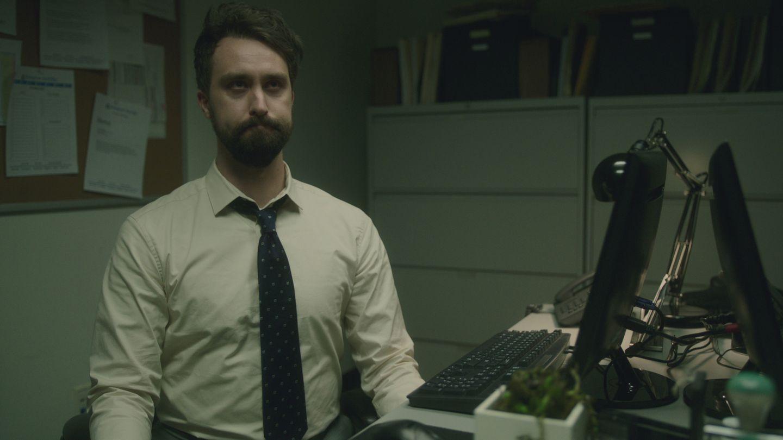 """Matt Ingebretson in Comedy Central's """"Corporate."""""""
