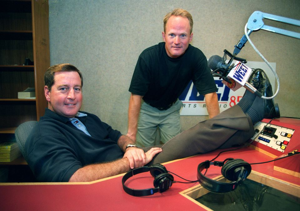 A third party recently conducted a focus group on behalf of WEEI, asking questions about personalities such as John Dennis, and Gerry Callahan.