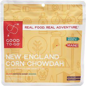 Maine-based Good To-Go's New England Corn Chowdah meal