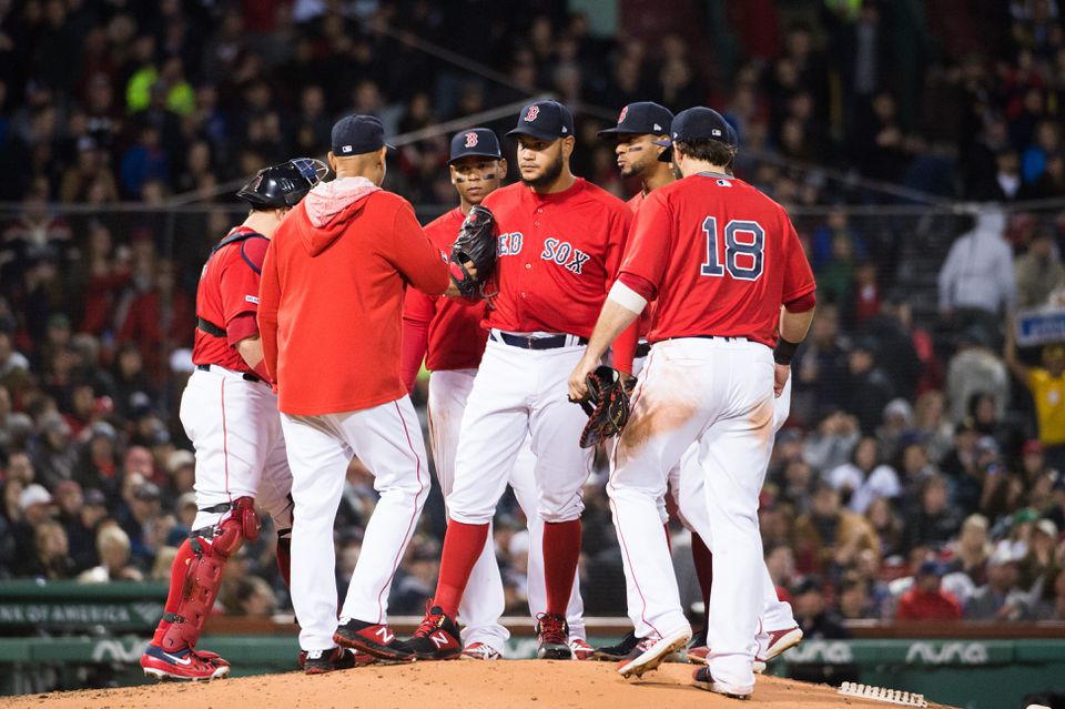 The Red Sox have been outscored by 40 runs through 18 games — an average of 2.3 runs per game, a margin that accurately reflects the frequency of blowouts.