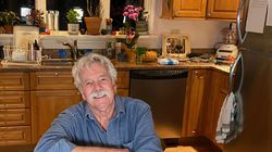 Tom Rush in his kitchen.