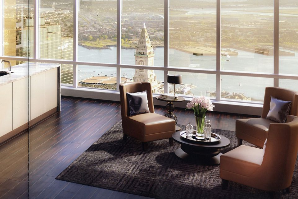 The $37.5 million unit at MillenniumTower is on the 60th floor.