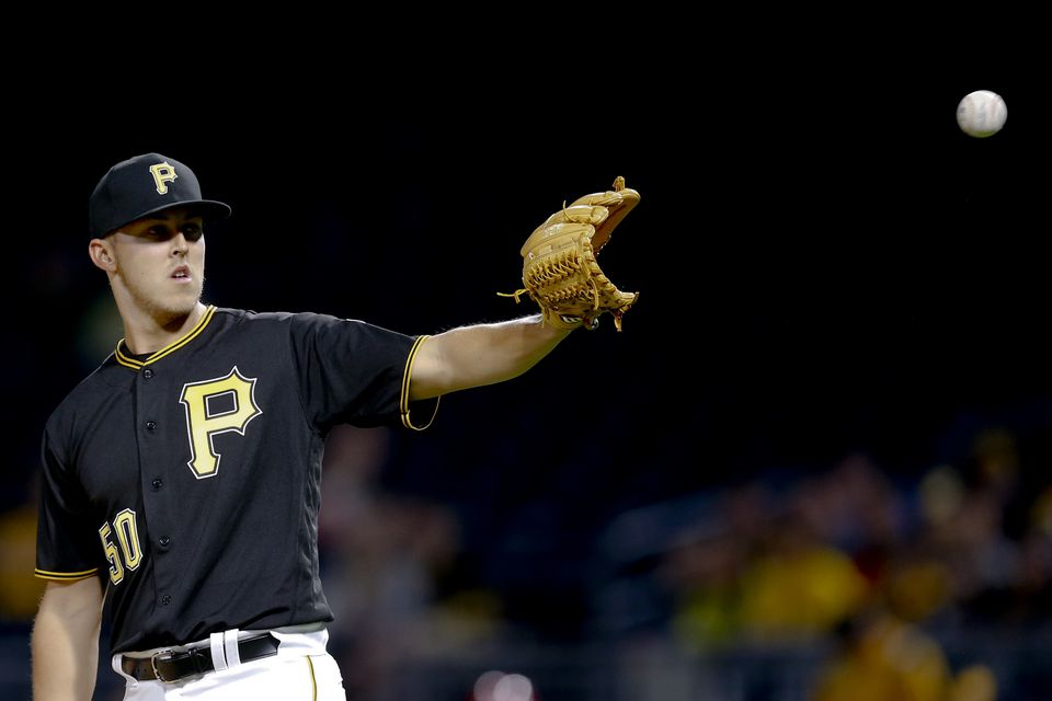 Jameson Taillon is 3-1 with a 2.90 ERA in seven starts.