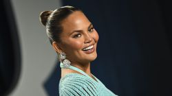 Chrissy Teigen, shown arriving at the Vanity Fair Oscar Party in Beverly Hills, Calif., in 2020, has returned to Twitter.