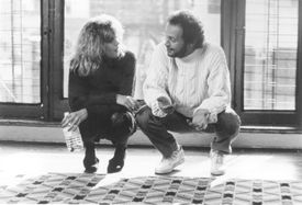 "Meg Ryan and Billy Crystal in the 1989 film ""When Harry Met Sally."""
