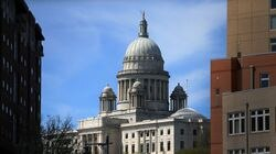 The Rhode Island State House in Providence.