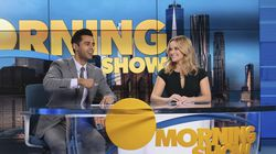 """Hasan Minhaj and Reese Witherspoon in """"The Morning Show."""""""