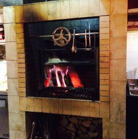 Lolita's wood-fired grill.