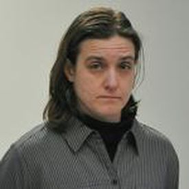 Sonja Farak stood during her arraignment at Eastern Hampshire District Court in Belchertown, Mass. in January 2013.